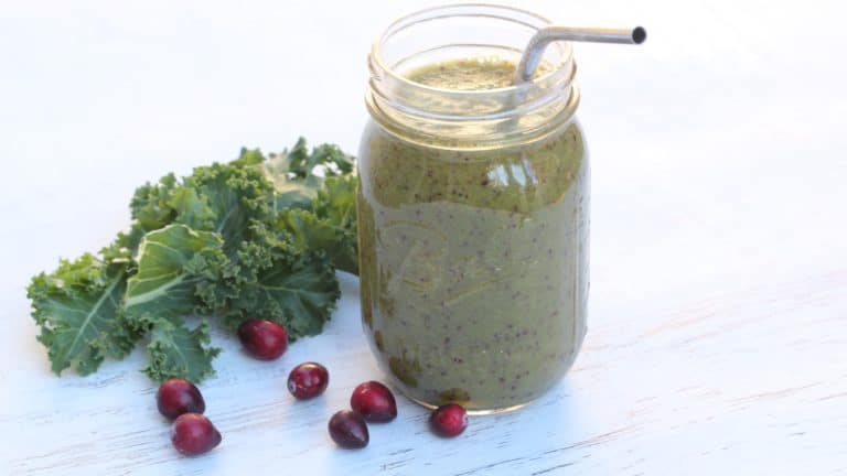 Cranberry Kale Smoothie
