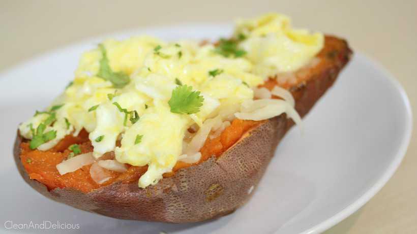 Sweet Potato Egg