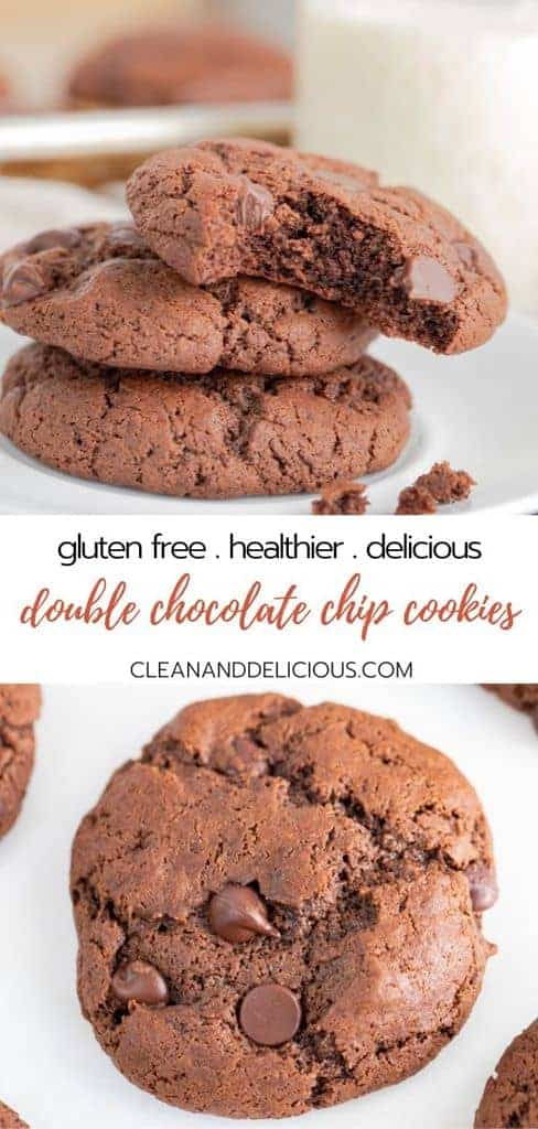 how to make gluten free double chocolate chip cookies