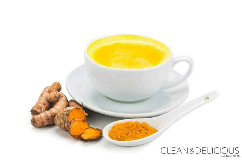 how to make grated turmeric and ginger tea