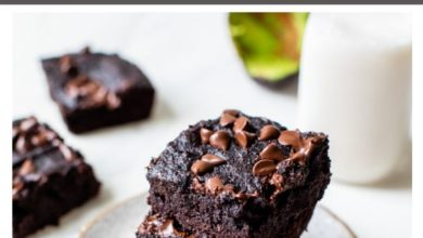 how to make Paleo avocado brownies