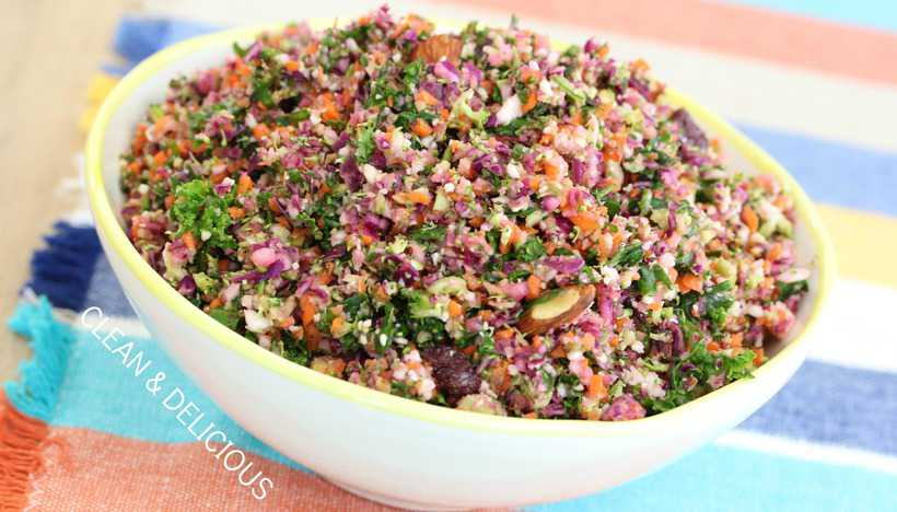 Chopped Detox Salad - Clean & Delicious with Dani Spies
