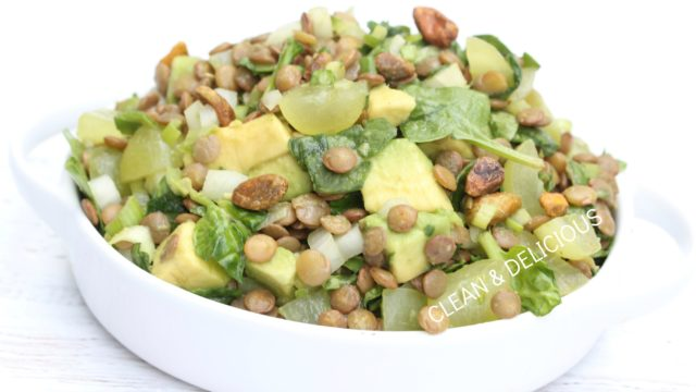 Lentil Grape Salad