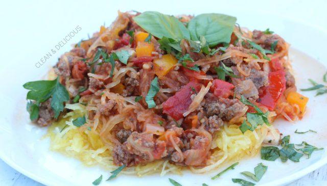 SpaghettiSquashSkillet