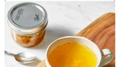 steps to make ginger turmeric tea