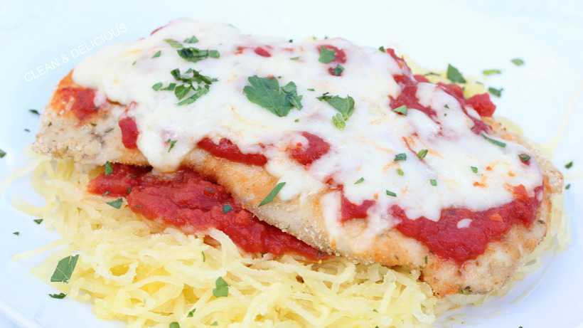 Baked Chicken Parmigiana Clean Delicious With Dani Spies