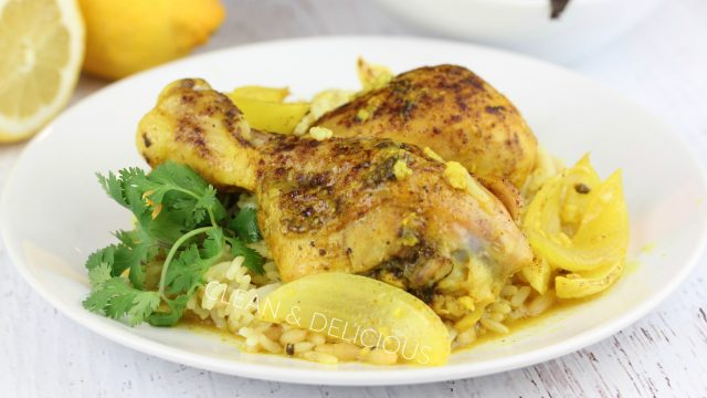 Baked Turmeric Lemon Chicken Clean Delicious With Dani Spies