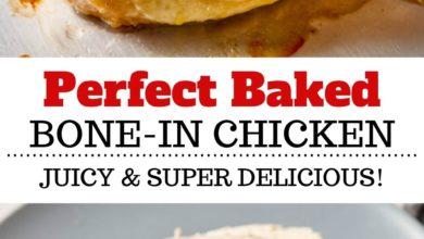 how to bake juicy bone-in chicken