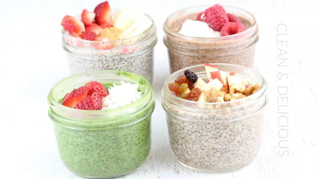 the best chia seed pudding recipe 4 delicious flavors clean