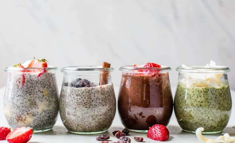 Chia Seed Pudding Recipe « Clean & Delicious