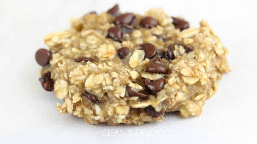 3 Ingredient Banana Oatmeal Breakfast Cookies Clean Delicious Energy Ball Cup Oat Matcha With Dani Spies