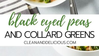 how to make black eyed peas and collard greens