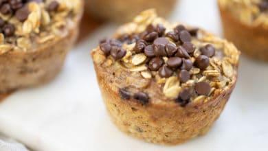 banana oatmeal muffin cups