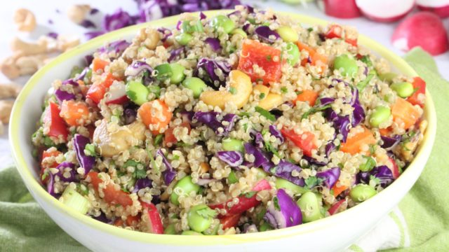 Asian Quinoa Salad Clean Delicious