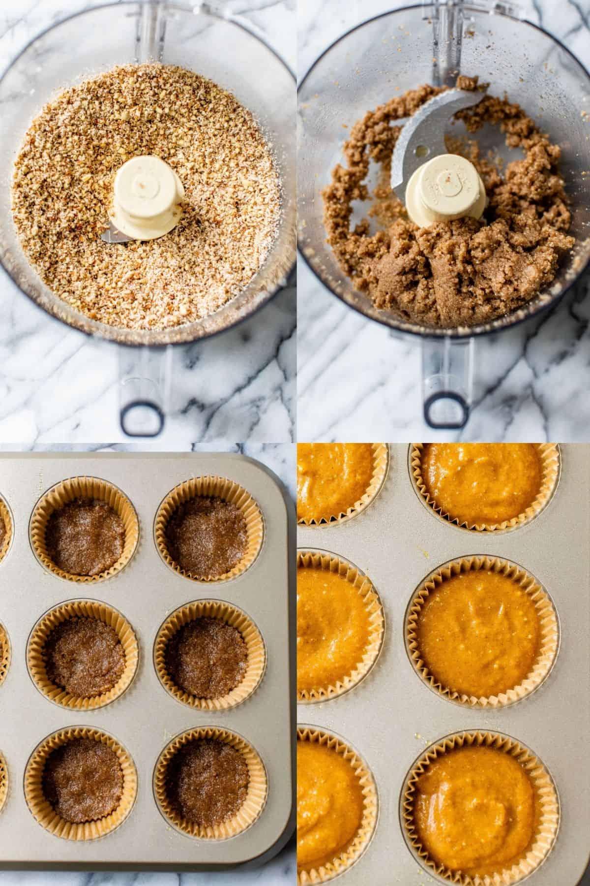 making crust for mini pumpkin pies