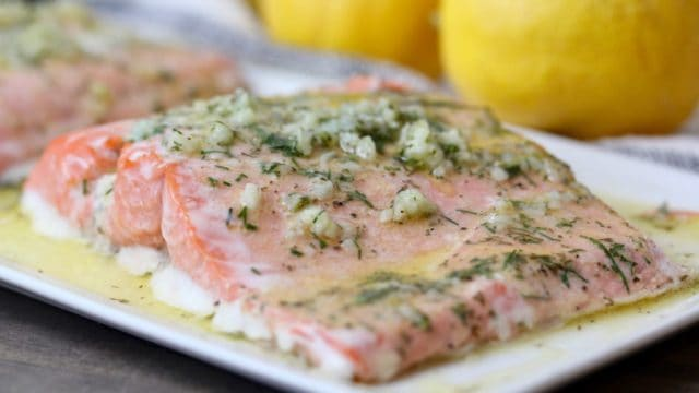 oven baked salmon 3 easy recipes clean delicious with dani spies. Black Bedroom Furniture Sets. Home Design Ideas