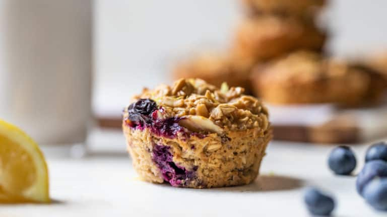 blueberry Oatmeal Muffin Cup