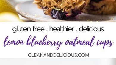 how to make gluten free blueberry oatmeal muffins