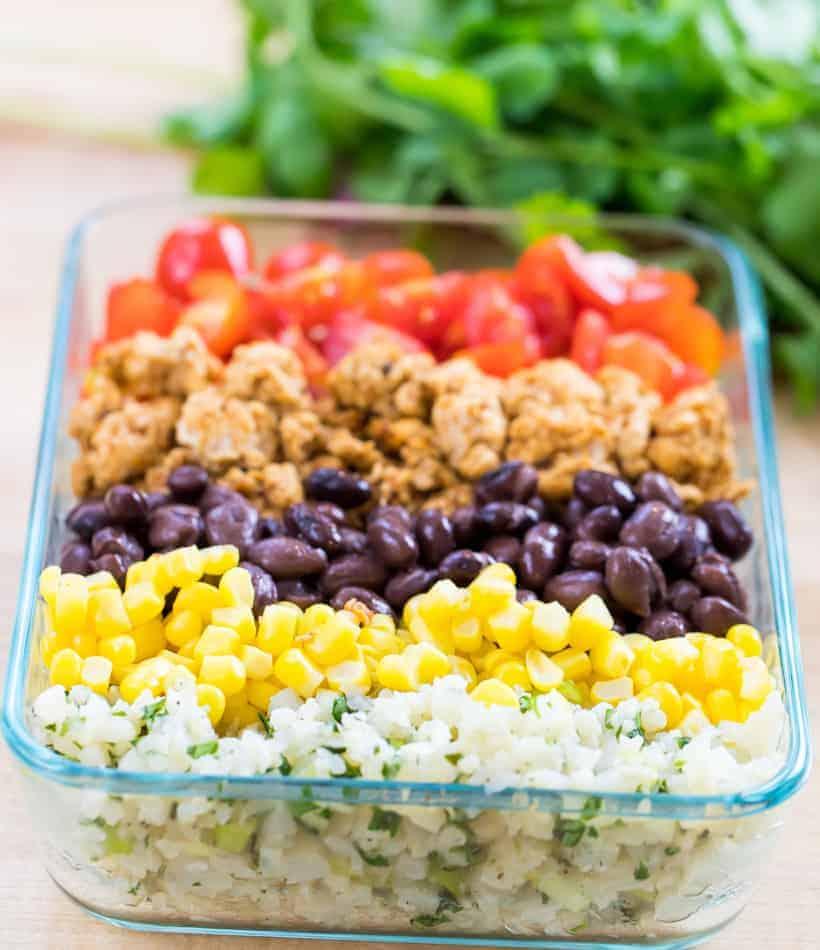 Chicken Burrito Bowls Lunch Meal Prep Clean Delicious,Jamaican Beef Patties Recipe