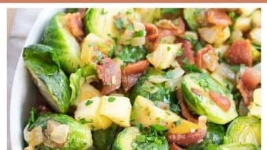 how to make a Brussels sprouts side dish