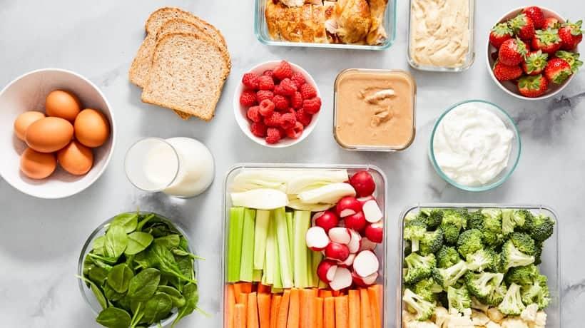 healthy kitchen staples mini meals