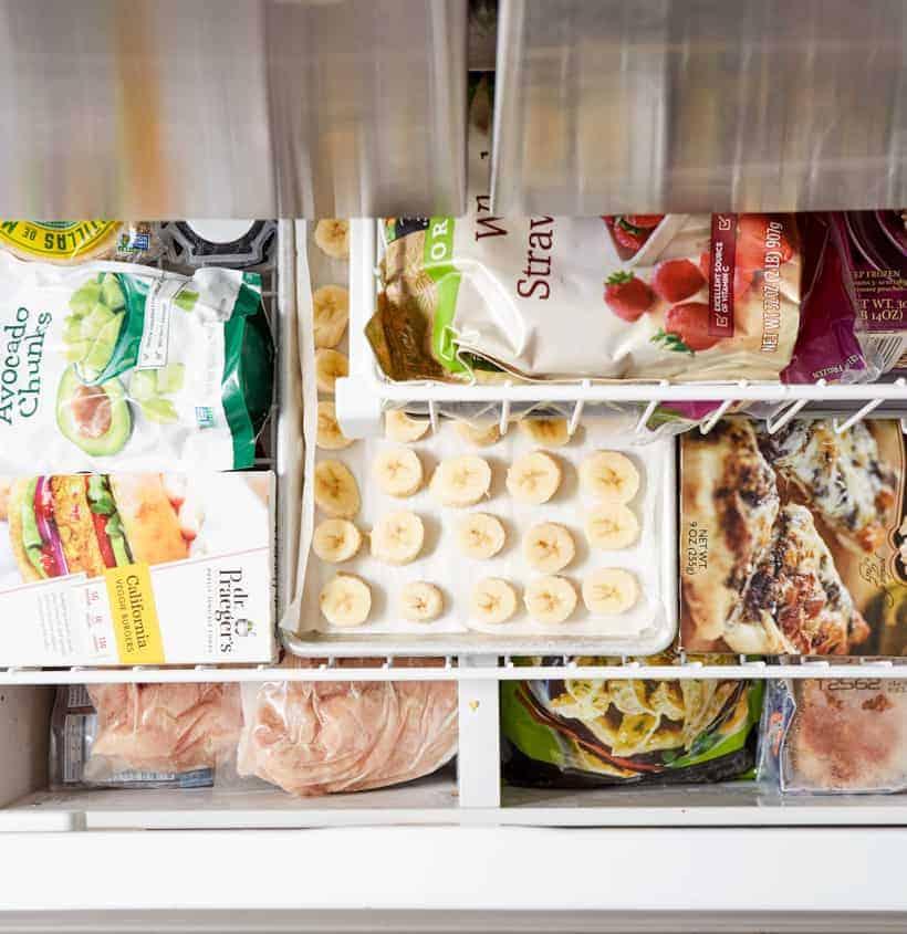 inside of my freezer