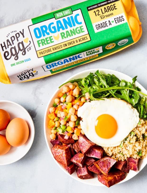 egg on power bowl