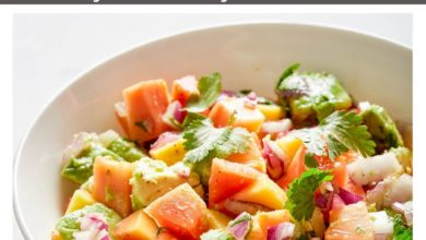 flavorful Papaya Salsa with Avocado