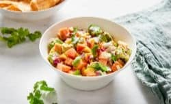 taste papaya salsa and adjust seasonings as needed