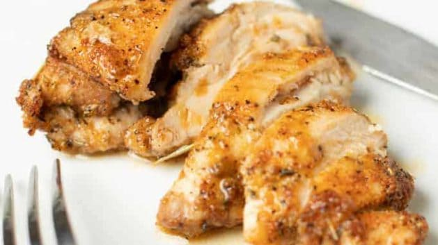 juicy chicken thigh